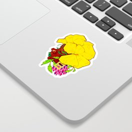 Wild Clover Sticker