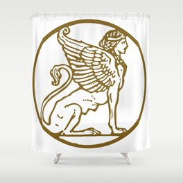 ForteFemme Sphynx - image only 2 Shower Curtain