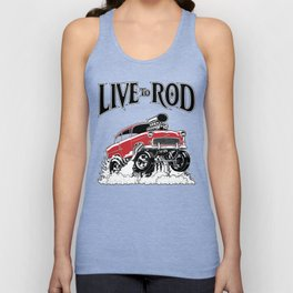 1955 CHEVY CLASSIC HOT ROD Unisex Tank Top