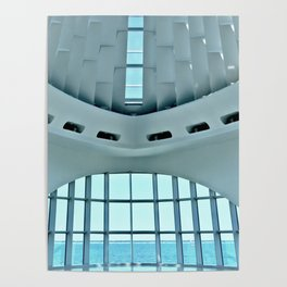Milwaukee Art Museum Poster