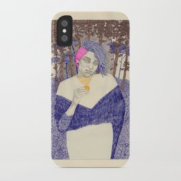 Learning to Love Another Woman, and a Mythical Creature iPhone Case