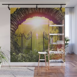 The gate to the world of dreams Wall Mural