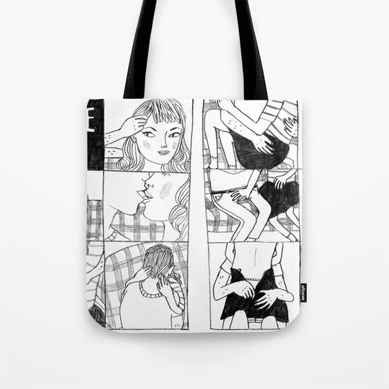 Make Out Tote Bag