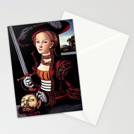 Judith with the Head of Holofernes Stationery Cards