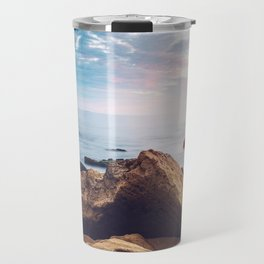 Little Corona Del Mar Beach Travel Mug