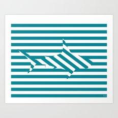 Shark 2 Art Print