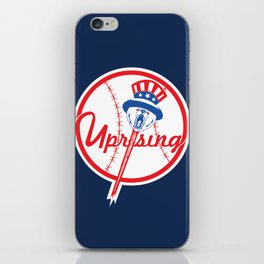 the NY uprising iPhone Skin
