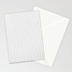 Leaf Pattern Textile Stationery Cards