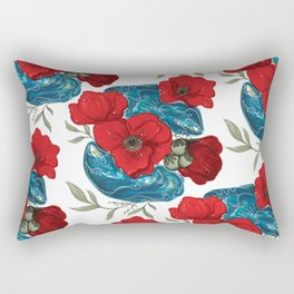 Remembrance Oysters Rectangular Pillow