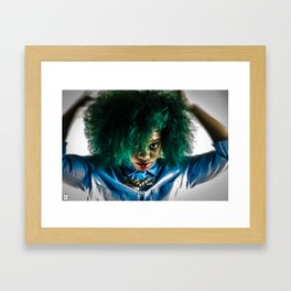 Weirdo Framed Art Print