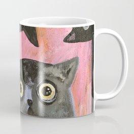 staring cats Coffee Mug
