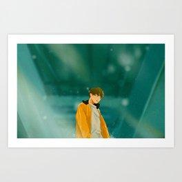 Euphoria Jungkook Art Print