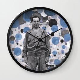 Bubble Boy - Katrina Niswander Wall Clock
