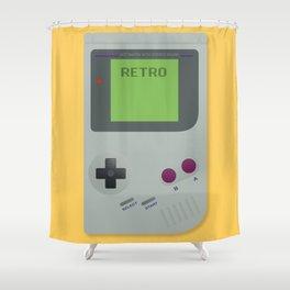 Retro Gameboy Shower Curtain