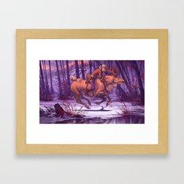 King of the Forest - Metsän Kuningas Framed Art Print