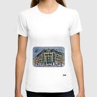 switzerland T-shirts featuring Geneva -  Switzerland by Vehen§Nes