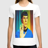 spock T-shirts featuring Spock by The Art Of Gem Starr