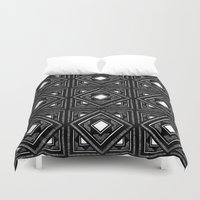 text Duvet Covers featuring text by madelyn anthony