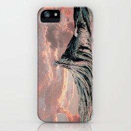 WAVE # 2 - sky iPhone Case