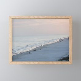 Sea Meets Land Framed Mini Art Print