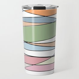 Intersecting Lines Travel Mug