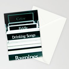 Drinking Songs & Bagpipes Stationery Cards