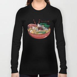 Ramen Shark Long Sleeve T-shirt