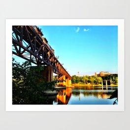 Susquehanna Reflections Art Print