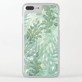 verde Clear iPhone Case