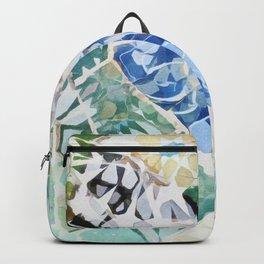 Mosaic of Barcelona VII Backpack