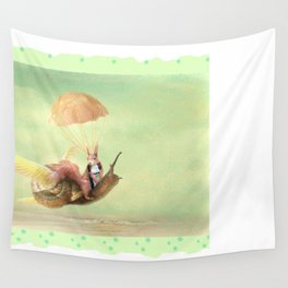 Cedric and the Golden Snail Wall Tapestry