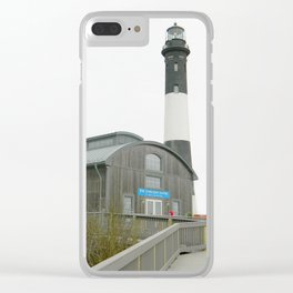 Lighthouse photography Clear iPhone Case