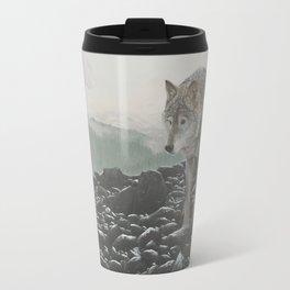Lang Creek Wolves Travel Mug
