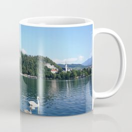 Swans in Bled Coffee Mug