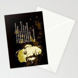 EDWARD SNOWDEN quOte Stationery Cards