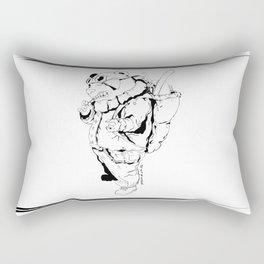 Gangsta Panda Rectangular Pillow
