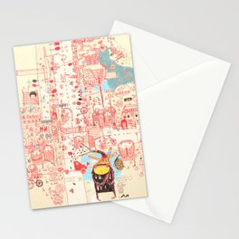 Stranger Stationery Cards