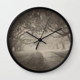 Avenue of Oaks Wall Clock