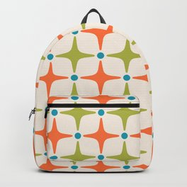 Mid Century Modern Star Pattern 822 Backpack