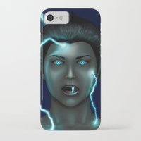 lightning iPhone & iPod Cases featuring Lightning by Egberto Fuentes