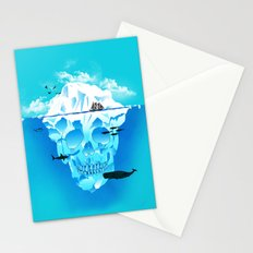 Cold Cruisings and Icy Endings Stationery Cards