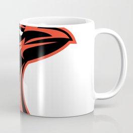 Angry Raven Head Icon Coffee Mug