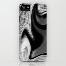 CONFUSE - BLACK iPhone Case