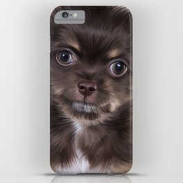Drawing Puppy Chihuahua iPhone Case