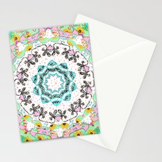 eclectic summer prints Stationery Cards