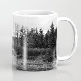 Fish Lake BW - Oregon Coffee Mug