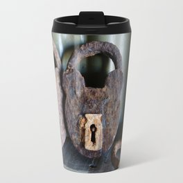 Rusty Padlocks Travel Mug