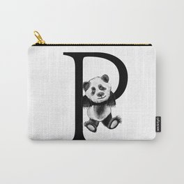 Letter Panda Carry-All Pouch