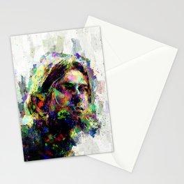 KurtCobain painting Stationery Cards