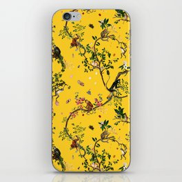 Monkey World Yellow iPhone Skin